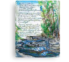 Bubbling Journey Canvas Print