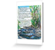 Bubbling Journey Greeting Card