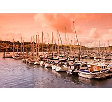 Dusk on the River Dart Photographic Print