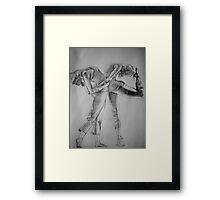 Yoga Girls Framed Print