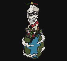 Skull on Wheels by Kirk Shelton