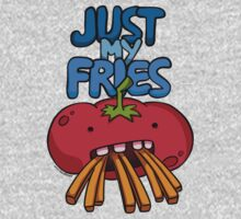 Just My Fries One Piece - Short Sleeve