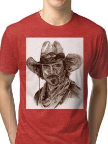 Tom Selleck Tri-blend T-Shirt