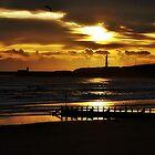 Sunrise At Aberdeen,Scotland. by Gary Buchan