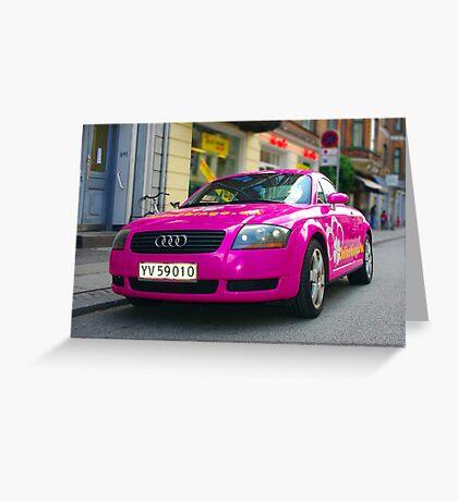 Hot!! Pink !!!!! Greeting Card
