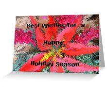 Happy Holidays..Christmas Card Greeting Card