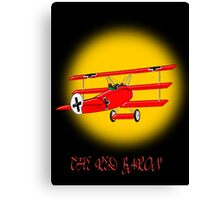 The Red Baron WW1 Fighter Ace Canvas Print