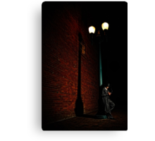 a late night Canvas Print