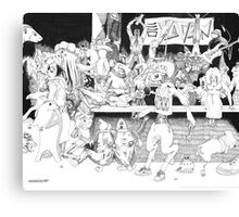 Gazpacho in A Night on the Town Canvas Print