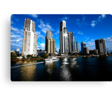 SPARKLING SKYLINE Canvas Print