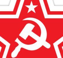 Soviet Red Star Symbol Stickers Sticker