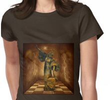 Dancing with Angels Womens Fitted T-Shirt