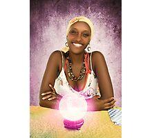 Belizean Fortune Teller Photographic Print