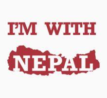 I am with Nepal Kids Tee