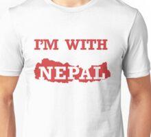 I am with Nepal Unisex T-Shirt