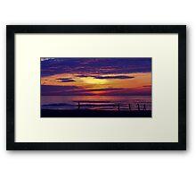 Asian Sunrise Framed Print