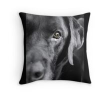 Dog Thoughts Throw Pillow