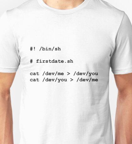 firstdate.sh Unisex T-Shirt