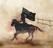 Rodeo Flag Bearer by RodeoDownunder