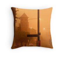 Thomas Street Dust Storm Throw Pillow