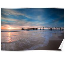 Motion at Henley Beach Poster