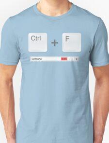 Web Developer Control Find Girlfriend T-Shirt
