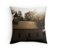 guiding light... Throw Pillow