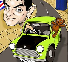 MR BEAN & DR WHO by David Lumley