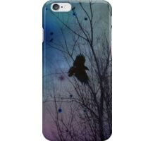 Night Flight Of Crow iPhone Case/Skin