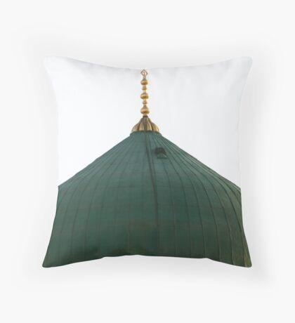 The Green Dome - Medina Throw Pillow