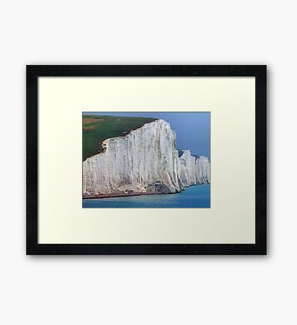 How High ! The Seven Sisters - HDR Framed Print
