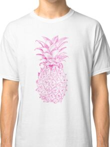 Pink Pineapple Classic T-Shirt