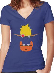 Jak & Daxter - Minimal Design Women's Fitted V-Neck T-Shirt