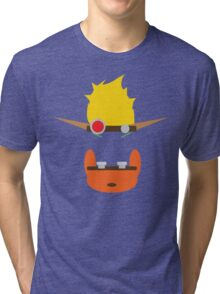 Jak & Daxter - Minimal Design Tri-blend T-Shirt