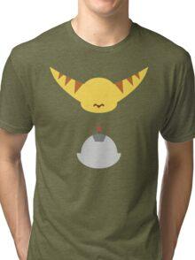 Ratchet & Clank - Minimal Design Tri-blend T-Shirt