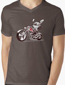 Born to Samurai Mens V-Neck T-Shirt