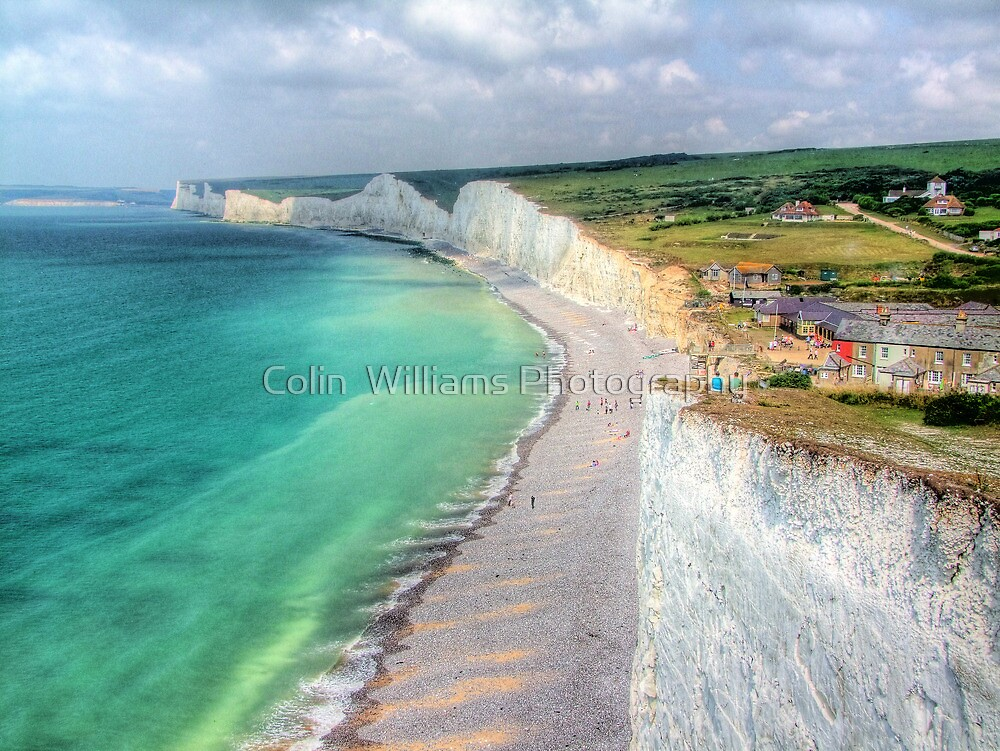 Birling Gap - HDR by Colin  Williams Photography