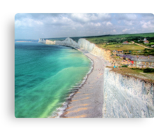Birling Gap - HDR Canvas Print