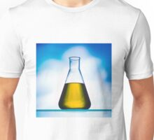 eco fuel in Erlenmeyer flask  Unisex T-Shirt