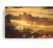 Devonport Shining Canvas Print