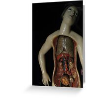anatomy Greeting Card