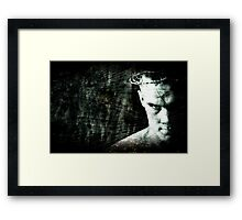 Beware The Second Coming Framed Print