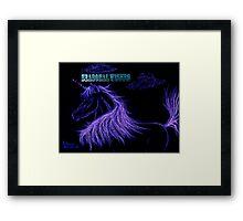 Unicorndreams of Lavender Framed Print