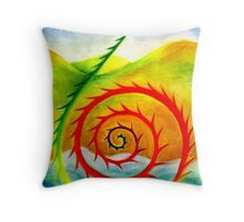 Koru Throw Pillow