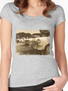 Classic FC Holden Cars Women's Fitted Scoop T-Shirt