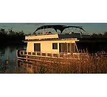 Holiday Houseboat Photographic Print