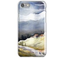Beauty of Himalayan Village Landscape iPhone Case/Skin
