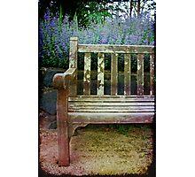 Empty seat Photographic Print