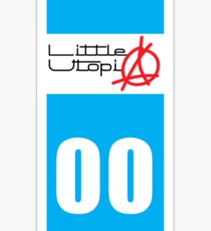 Immat sticker little utopia Sticker