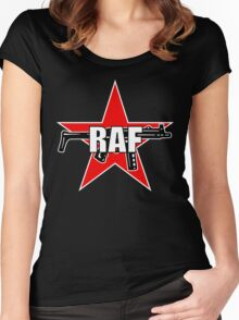 RAF Red Army Faction Women's Fitted Scoop T-Shirt